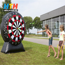 Funny inflatable dart game soccer dart game for sale