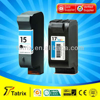 for HP 15 Black Inkjet Print Cartridge , Remanufactured 15 Ink for HP 15 Ink Cartridges With ISO,SGS,STMC Approved