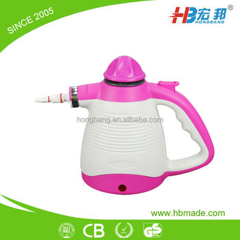handheld and portable industrial steam cleaners for sale multifunctional Steam cleaner 900W with 350ML 900W 5 in 1