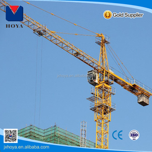 Best price of derricking jib roof top crane of CE standard