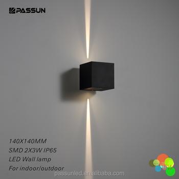 Building Facade Illumination 2 Narrow Beam Light Wall Mounted Decorative Led Outdoor Lamp