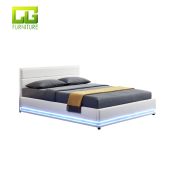 divan bed design wooden box bed design Led Bed CG-LBD 1117