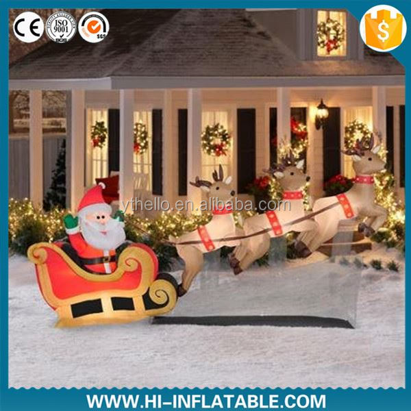 wonderful advertising snowman inflatable Christmas decoration for sale