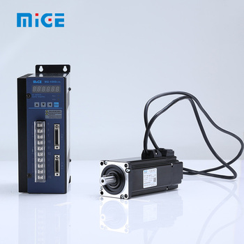 low price 60mm 400W Mige permanent magnet AC servo motor and driver