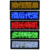 programmable LED name badge for restaurants, nightclubs, club waiters