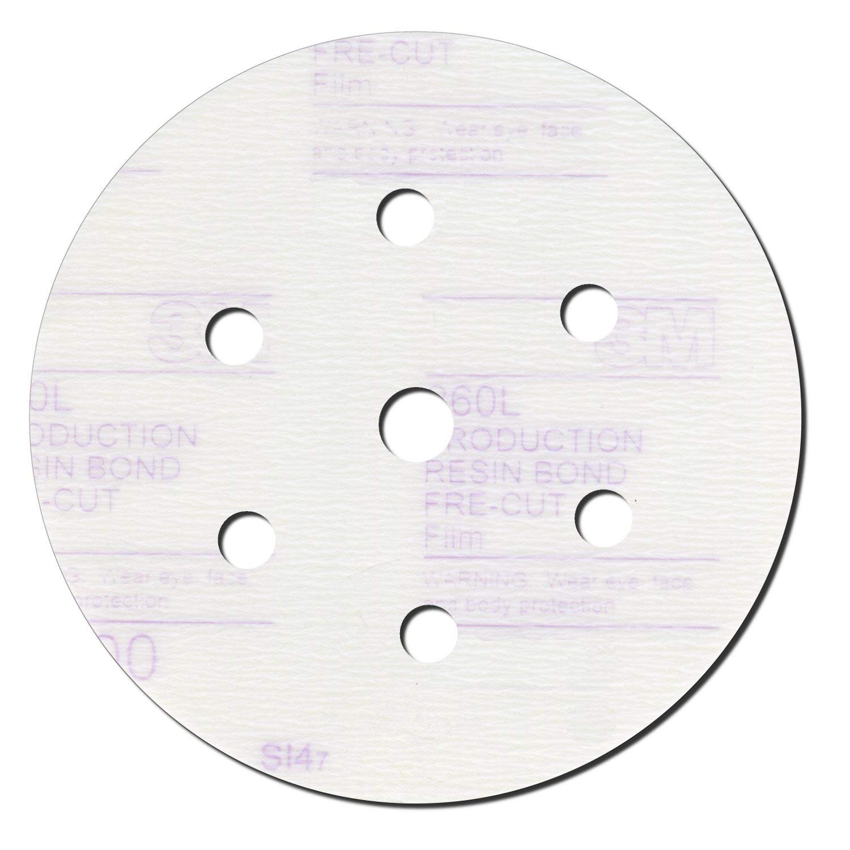 Hookit Finishing Film Disc Dust-Free, 6 in, 600 grit, Film Backing, 01071