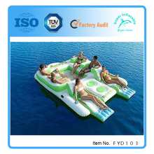 Inflatable Floating Island Giant Lake Raft Pool Float