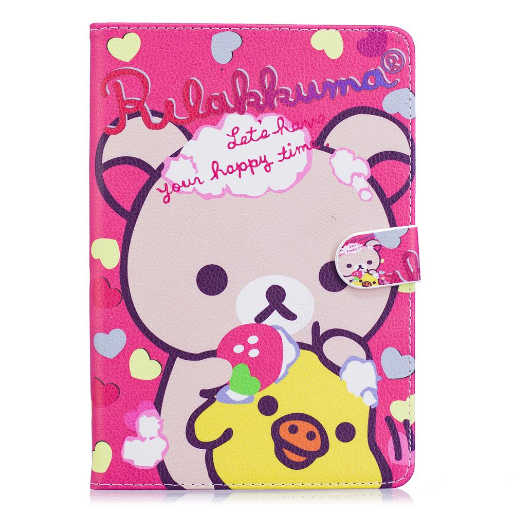 Cartoon synthetic leather For Hello Kitty protective case for iPad mini 123