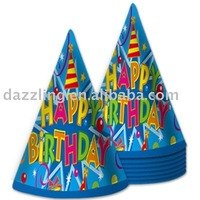 Party Cone Hats - Birthday