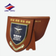 Fashionable wood stand wooden shield award plaque