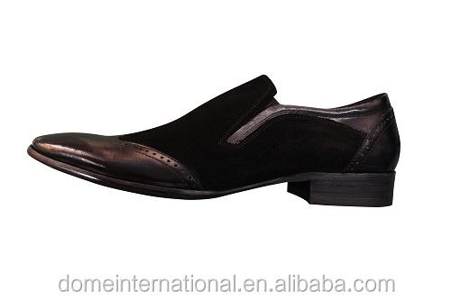 trendy without shoes men dress shoes black mature leather man retail Wholesale online style genuine lace italian new european vqIvaB
