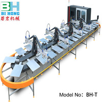 germany screen printing machine / automatic textile screen printing machine / oval screen printing machine