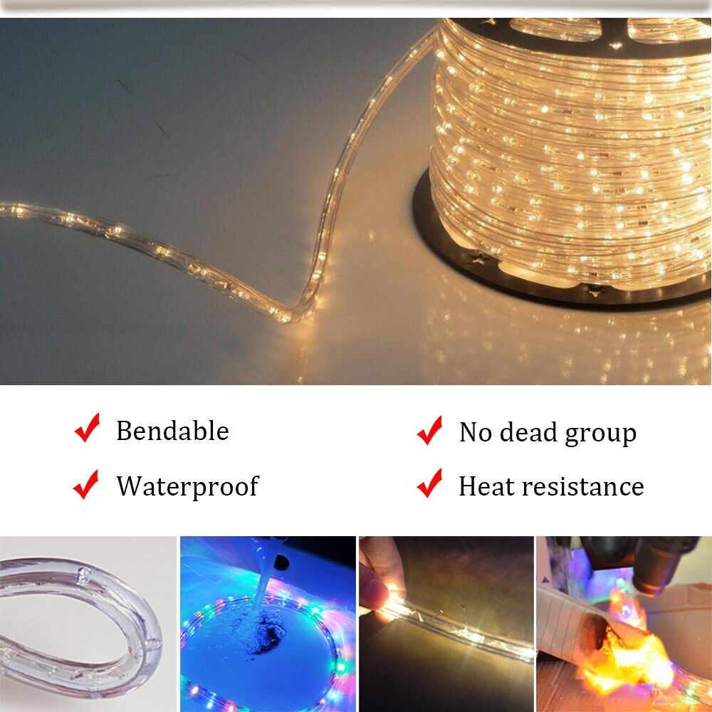 Professional Dimmable Led Rope Light Spool With Great Price