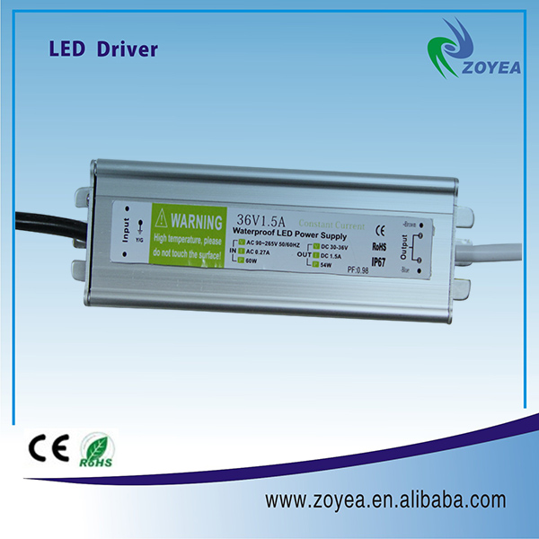 Wholesale 0-10v Dimming 50w Led Driver 30-36v 1.5a Constant Current ...