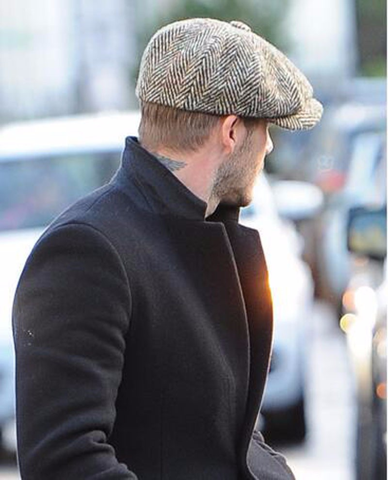 253358bbe2 Jason Statham Duckbill Hats British Men Boina Berets Wool Blend ...