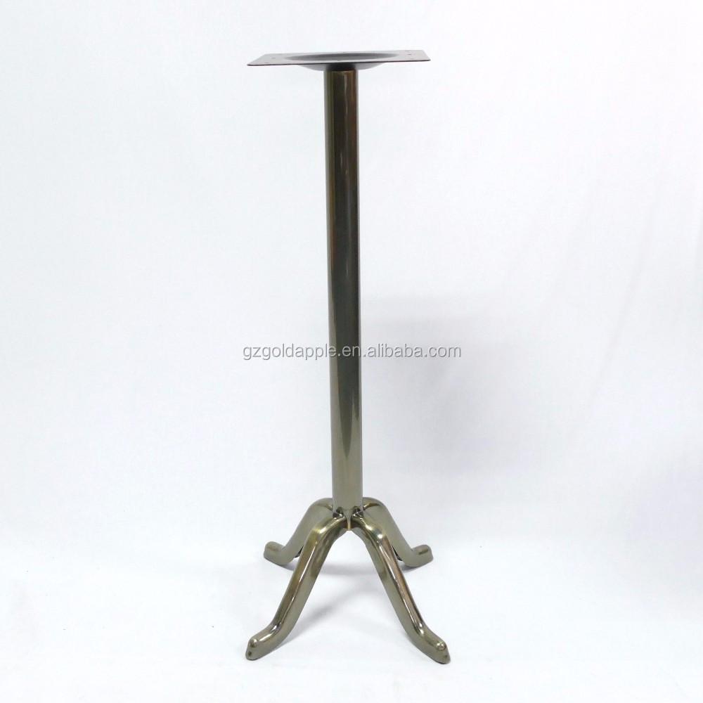 Vintage metal high bar table base steel table base buy - Table base metal ...
