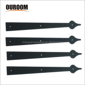 Decorative Garage Door Carriage House Spade Spear Hinges