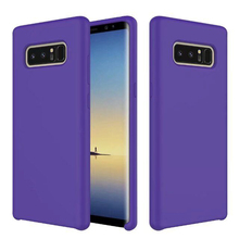 liquid silicone case for samsung note 8 original cover for galaxy note 8