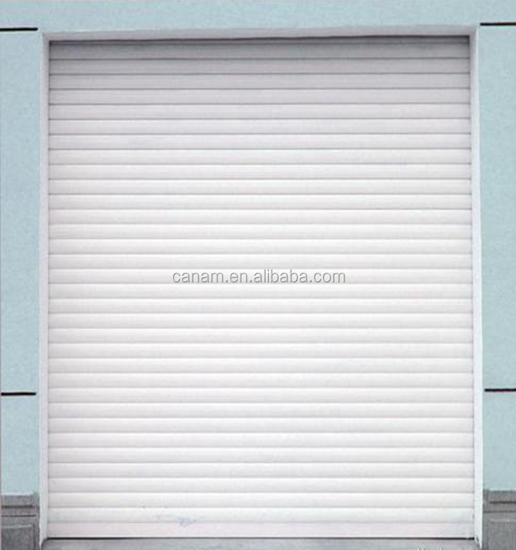 Motorized aluminium interior window roller shutters