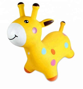 Animal Deer Hopper Inflatable Kids Jumping Toys Colorful