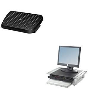 KITFEL48121FEL8031101 - Value Kit - Fellowes Office Suites Monitor Riser (FEL8031101) and Fellowes Standard Footrest (FEL48121)