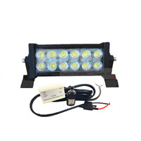 10.5Inch waterproof LED Straight Work light bar spot beam 4X4 Offroad driving light for Cars