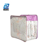 Excellent Quality Transparent PVC Family Durable Steel Wire Quilt Bag