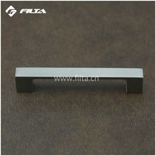 Solid quality flat square nickel cabinet drawer handles