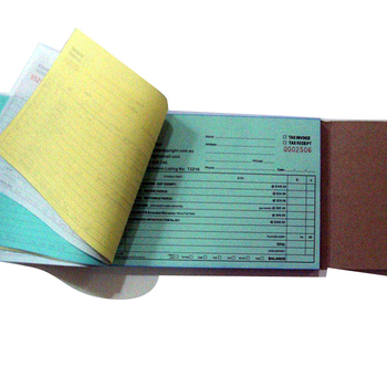 Customized Carbonless Paper Receipt Book Invoice Buy Receipt Book - Custom invoice receipt book