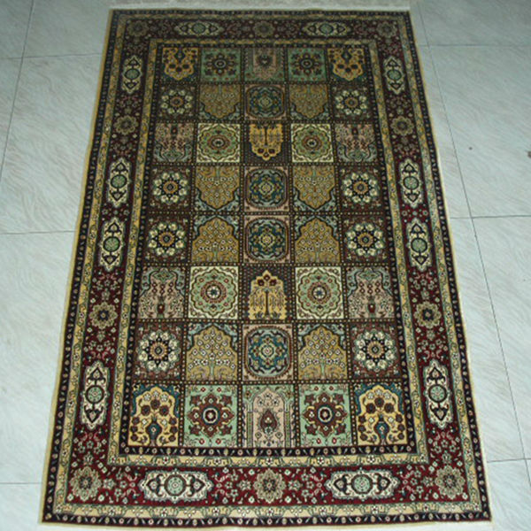 Persian hand carved rugs