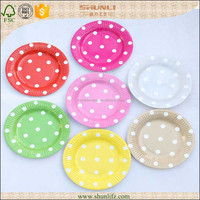 Party Tableware Set Kid Birthday Party Suplies Party Paper Plates
