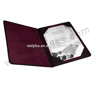 2017 China Supplier Wholesale Certificate High Quality Certificate Holder,Degree Certificate