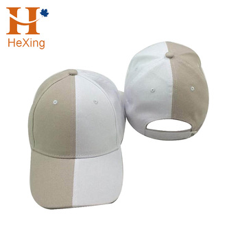 18 Years Manufacturer Metal Buckle Plain White Black Two Color Baseball Caps 0b2f2b3e70c