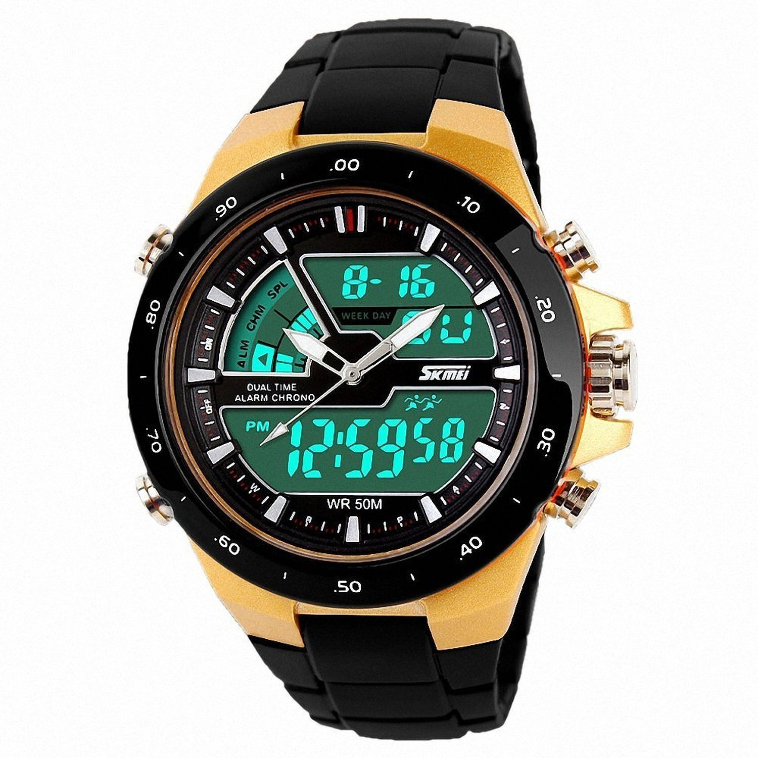 7b68f2f3b Fanmis Touch Screen Digital LED Waterproof Boys Girls Sport Casual Wrist  Watches Blue · Fanmis Women Men Sports Watches Fashion Casual LED Waterproof  ...