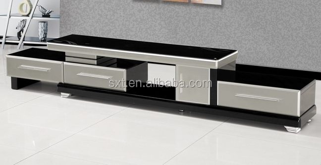 Hot Selling Modern Extensible Design Wood Tv Stand