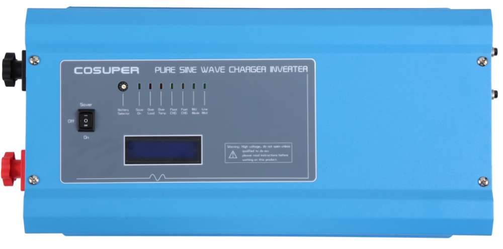 single phase 12vdc 24vdc 1500 watt solar power inverter pure sine wave 1500w