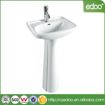 Singapore Design Kitchen Wash Sink Bathroom Pedestal Basin With Low Price Good Quality