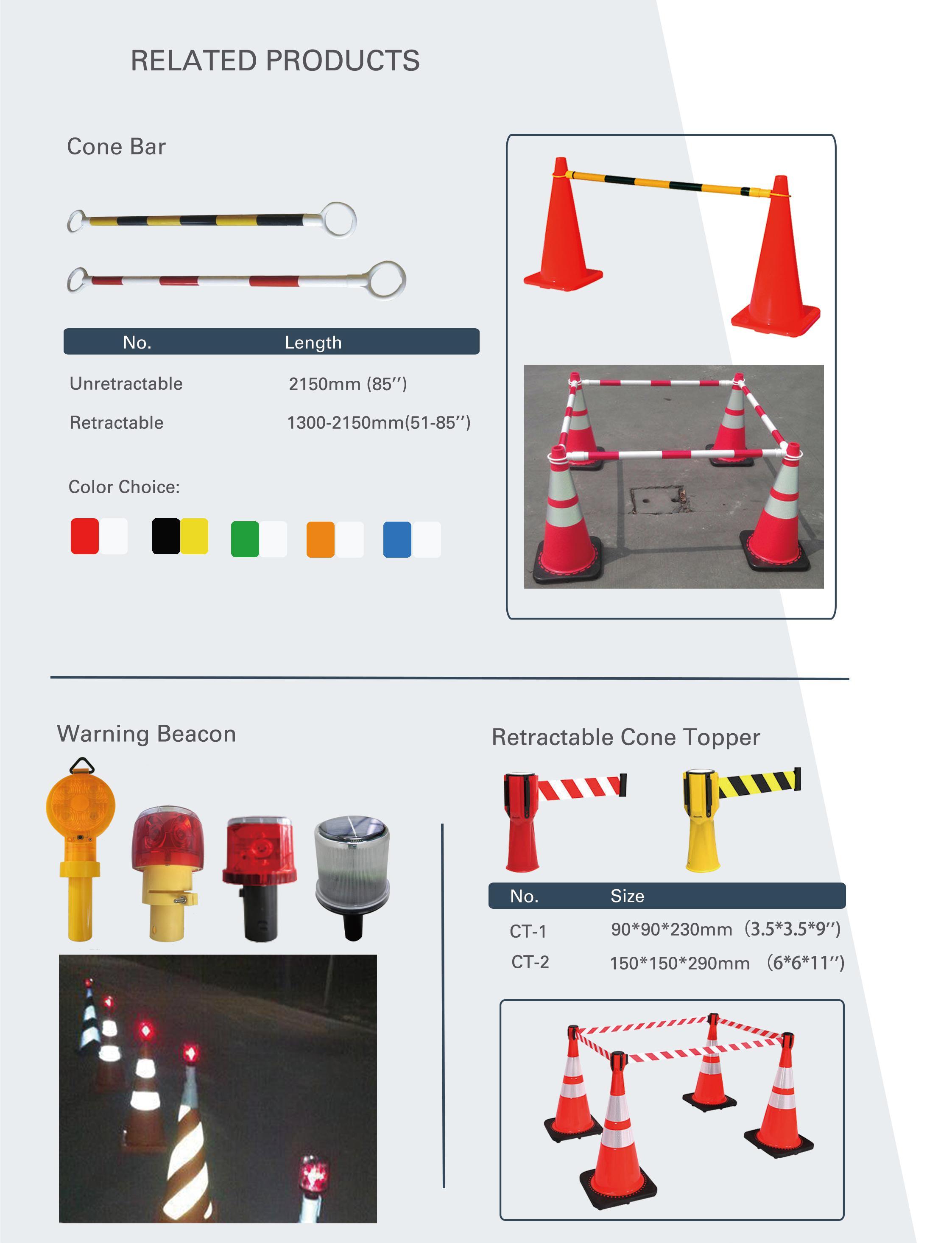 Entraînement sportif route sécurité grand cône en plastique