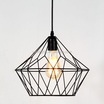 Zhongshan Swin Iron Wire Industrial Lamp/pendant Lighting With UL/CE