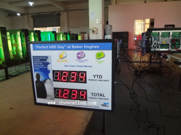 1.2 inch lcd price display supermarket or gas stations