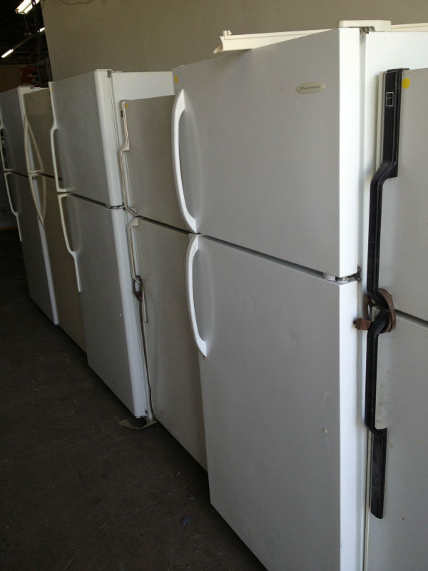 AS IS USED REFRIGERATORS