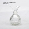 custom design clear glass bottle whiskey glass bottles