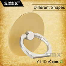 Different Shapes Custom 360 Degrees Finger Phone Ring Metal Ring Holder For Mobile Phone