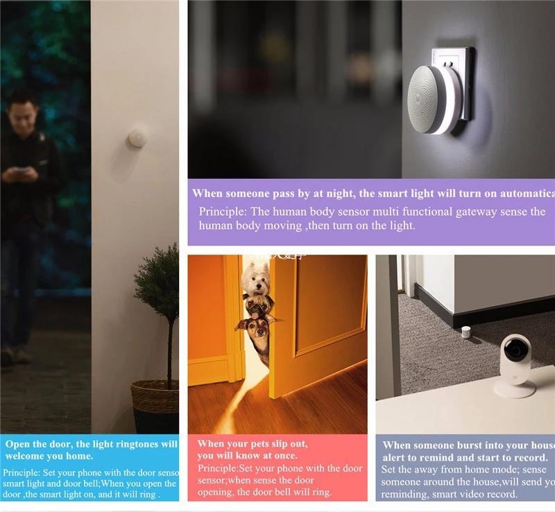 Mijia Aqara Zigbee Bluetooth Gateway Home Assistant For Smart Home Center  Controller Gateway - Buy Smart Home Gateway,Mijiazigbee Gateway,Bluetooth