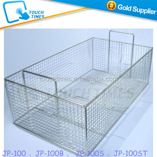 For Ultrasonic Cleaner JP-100 Series JP-100 JP-100S JP-100B JP-100ST Stainless Steel Cleaning Basket