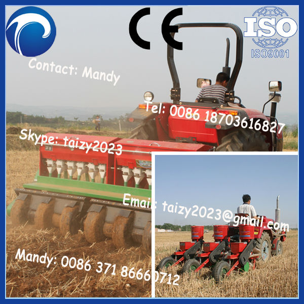 small tractor corn planter/tractor mounted maize corn seeder