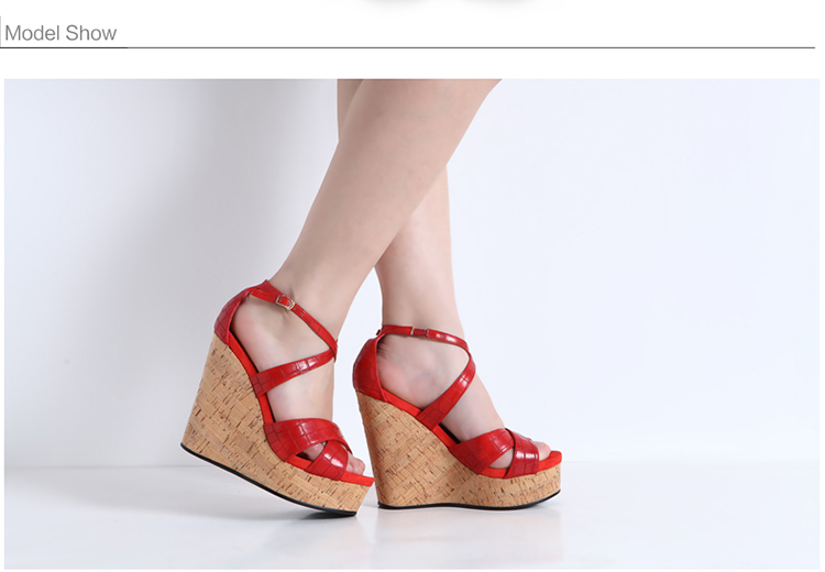 New Design Red Stone Pattern Ladies Sandals Comfortable Rubber ...