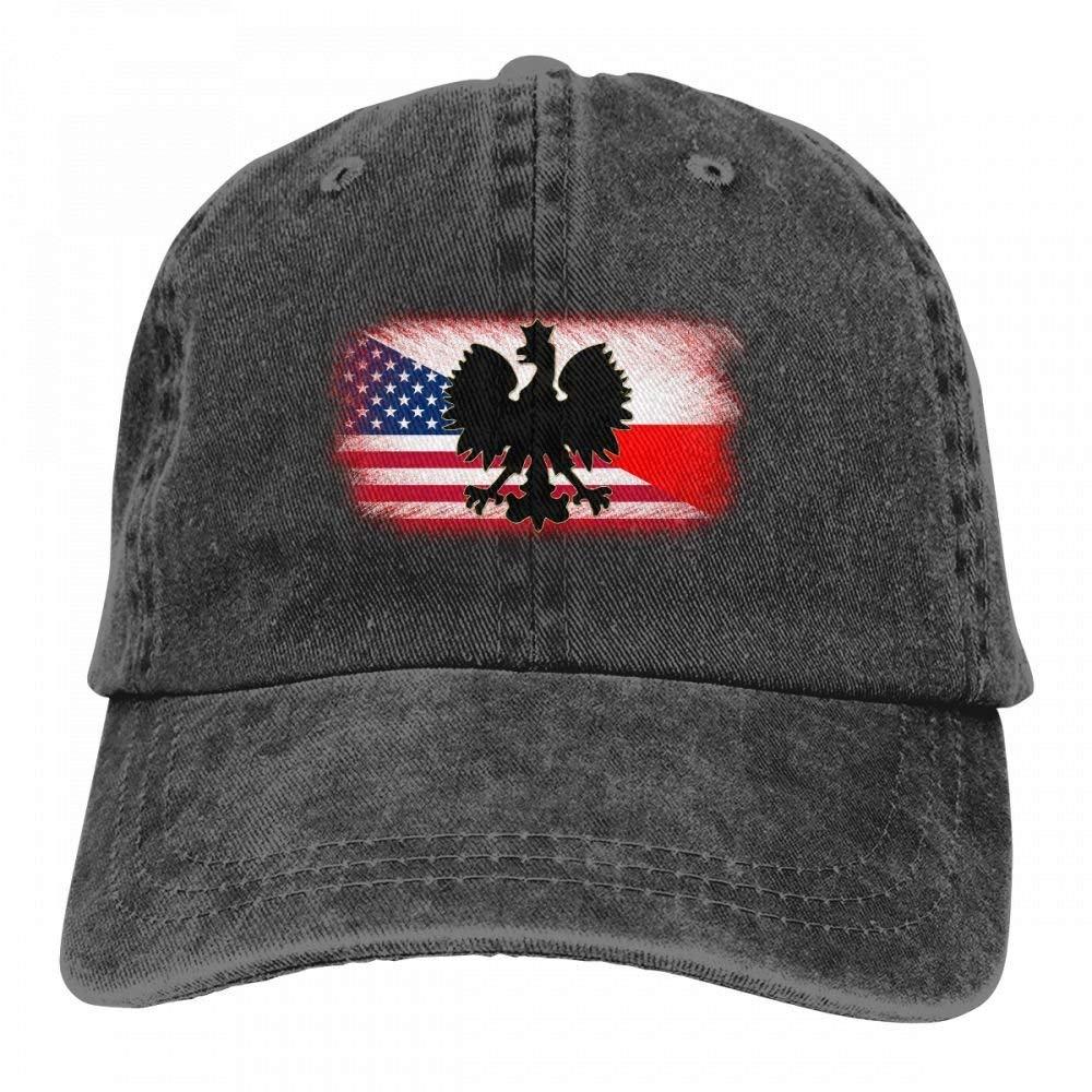 c1deea19f Goldsmith Sally Polish American Flag Poland Polska Vintage Men Women  Adjustable Baseball Cap Trucker Dad Hats