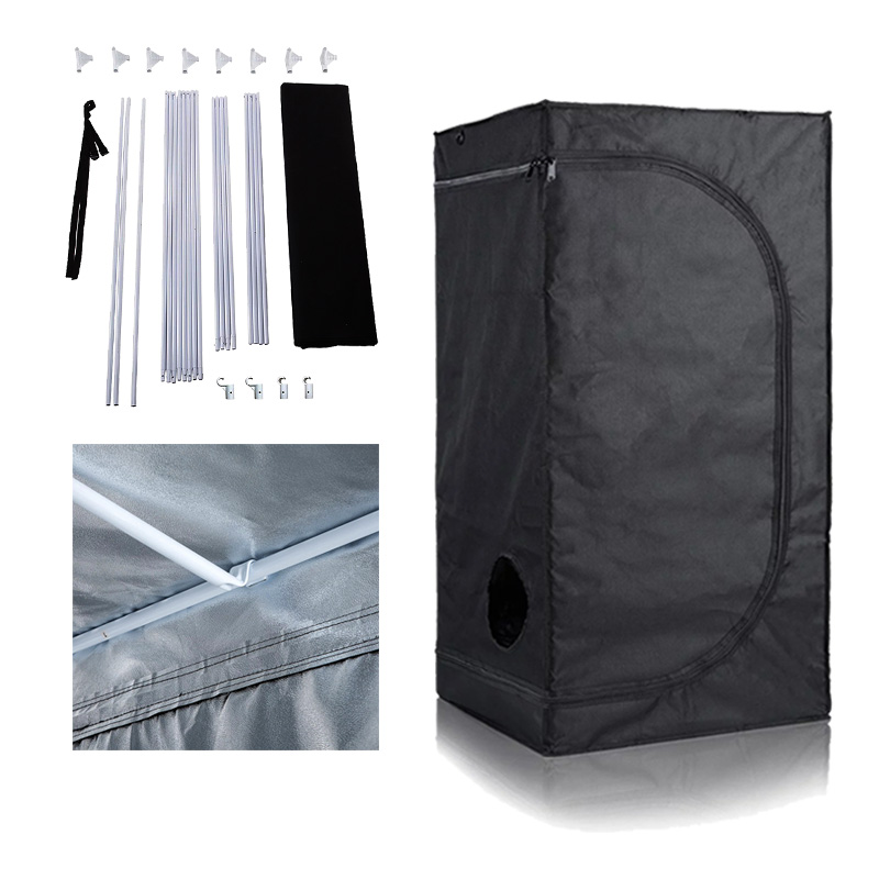 2x2 2x4 3x3 4x4 4x8 1680d Indoor Hydroponic Grow Tent Reflective Complete  Kit For Mushroom&medical Plants - Buy Grow Tent Kit,Mylar Grow Tent,Grow