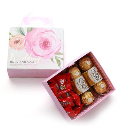 Free Sample  Most Popular Custom Wedding valentine's Day Drawer A Paper Gift Box